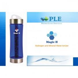 韓國PLE Magic H天然礦物質鹼性富氫水杯,抗氧化原理: 富氫水中的氫(H2)進入身體後通過氧化自由基把毒性恢復為水(H2O)